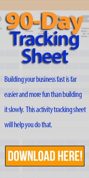 90 Day Tracking Sheet
